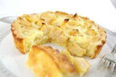 Низкокалорийный яблочный пирог на кефире