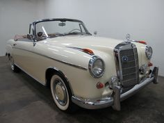 Used 1960 Mercedes-Benz Cabriolet Stock # 02336 in Los Angeles, CA at Beverly Hills Car Club, CA's premier pre-owned luxury car dealership. Come test drive a Mercedes-Benz today! Mercedes Benz 220, Mercedes Benz Cars, Mode Vintage, Vintage Cars, Antique Cars, Beverly Hills Cars, Mercedez Benz, Daimler Benz, Classy Cars