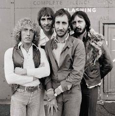 The Who, Group Portrait, Shepperton Studios, 1978