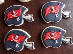Tampa Bay Buccaneers cookies | Tampa Bay Buccaneers party