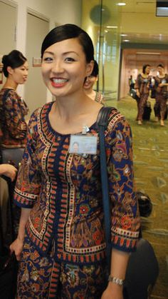 cute-sia-girl-55 Pacific Girls, Airline Cabin Crew, Airline Flights, Military Women, Commercial Aircraft, Flight Attendant, Kebaya, Singapore, Traditional Outfits