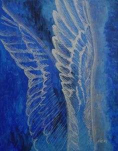 Acrylic Painting - Wings Of Angel by Jindra Noewi