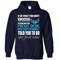Awesome Shirt For Front Desk Receptionist - #tshirts #sweater upcycle. ORDER HERE => https://www.sunfrog.com/LifeStyle/Awesome-Shirt-For-Front-Desk-Receptionist-9107-NavyBlue-Hoodie.html?68278