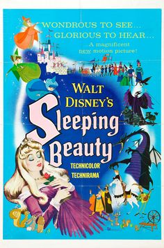 Sleeping Beauty - American animated musical fantasy film, based on a French fairy tale of the same name by Charles Perrault, 1959