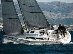 Charter sailing yacht Salona 34, 2 cabins, 4+2 berths, Available for charter in Croatia, Italy and France.