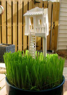 LEGO Grass Planters