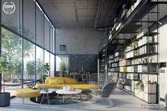 Industrial Open Space / Tony Antoun with 5SRW