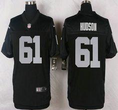 d417dbf0e854b3 ... Oakland Raiders Jersey 61 Rodney Hudson Nike Black Elite Jerseys.  Oakland RaidersNflJersey