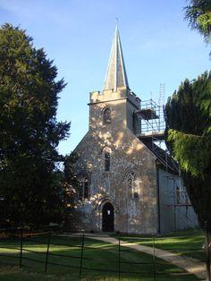 St. Nicholas church, Chawton
