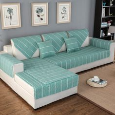 Discounted OstepDecor Pet Dog Couch Cotton Quilted Chequer Furniture Protector Cover for Sofa, Loveseat Best sofa protector cover design ideas for modern living room furniture 2019 Diy Sofa Cover, Couch Covers, Sofa Cushion Covers, Sofa Set Designs, Couch Furniture, Furniture Covers, Furniture Stores, Corner Sofa Cushions, Dog Couch