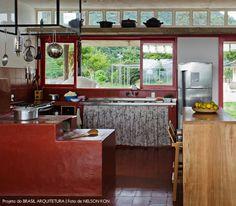 farm kitchen | cozinha de fazenda #decor #cozinhas #kitchens