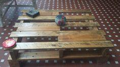 Tavolino con legno