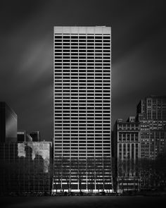 Elevation I - W.R. Grace Building http://mabrycampbell.com #image #photo #fineart #mabrycampbell #architecture #blackandwhite #nyc #newyorkcity #skyscraper