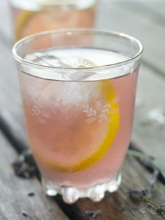 Lavender Lemonade with Lemon and Other Easy Lavender Recipes: English lavender is a fun herb to use in the kitchen. Tips for using lavender in recipes
