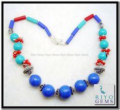 Beads Necklace Jewelry Riyo Gems www.riyogems.com