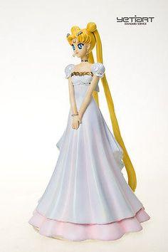 Princess Serenity Sailor Moon Hand Painted Resin Model Garage Kit Yetiart Figure