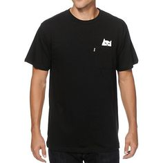 Rip N Dip Lord Nermal Pocket T-Shirt at Zumiez : PDP - Grey or Black (M)