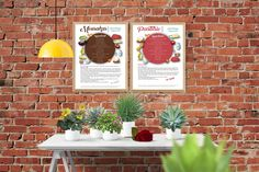 These are printable recipes of Greek Mousakas and Greek Pastitsio as food art. Great for your wall and better for your taste. These are the original Greek recipes #wall art#printable #foodart