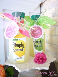 Simply Lemonade {parent volunteer gift} You're simply the best.