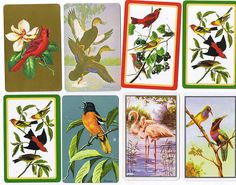 swap card birds by meetmeatmikes, via Flickr
