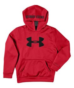 Look at this Red Armour® Fleece Storm Big Logo Hoodie - Boys on #zulily today!