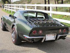 Corvette - via Barrett Jackson - pin by Alpine Concours