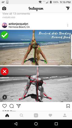 Yoga - Revolved Wide-Legged Standing Forward Bend