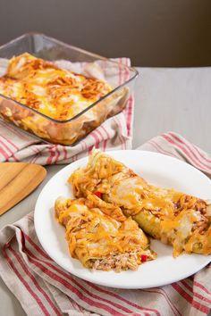 Recipe: Chicken Chile Enchiladas — Freezer Recipes from The Kitchn