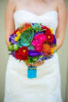live wedding flowers