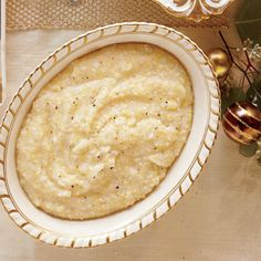 Perfectly Paired Holiday Sides: Creamy Parmesan Grits