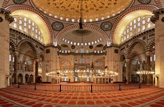 Suleymaniye mosque -Turkey Blue Mosque