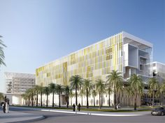 Hospital Design in Khalifa City, UAE
