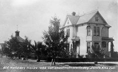 Old Halladay House 1886 Santa Ana,California Old Photos, Vintage Photos, Scary Houses, Orange County California, California History, Weekend Trips, Santa Monica, Past, Random Stuff