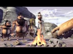 Stone Age Short Animation Video.