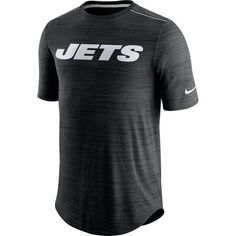 New York Jets Nike Sideline Player Performance T-Shirt - Black d08ebedf9