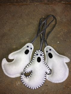 Ghost Felt Ornament orDoll by patsfabriccreations on Etsy, $7.99