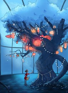 "The wish tree "" ( c ) by Aurélie Neyret"