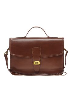 Leather Vintage Style Satchel