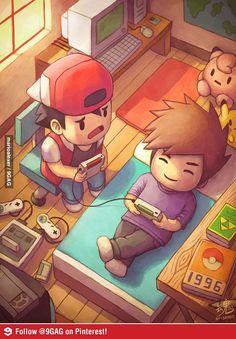 Ahhh how I remember those days :)