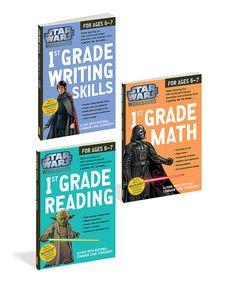 Another great find on #zulily! Grade 1 Star Wars Workbook Set by Star Wars #zulilyfinds
