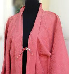 Haori Japones de seda natural con himo  de Slow Fashion Silk por DaWanda.com