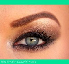 A neutral, wearable smokey eye using the Naked palette