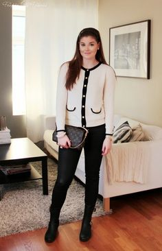 outfit, style, Chanel, Louis Vuitton, blog, classic