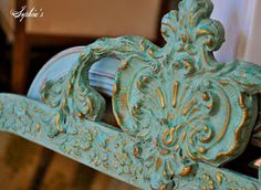 Do you ever run across those ornate, gold mirrors at thrift stores, flea markets, auctions, etc and wonder how you can change them up a ...