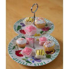 Flower Garden cake stand #dinnerparties #tableware