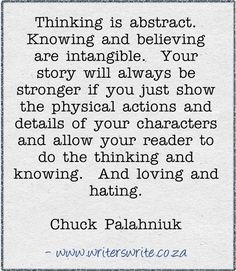 Quotable - Chuck Palahniuk - Writers Write Creative Blog