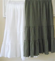 tiered-skirts