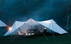 Best Tents For Camping, Cool Tents, Camping Style, Camping Car, Camping Life, Campsite, Camping Ideas, Sheet Tent, Hanging Tent