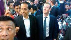 Setelah melakukan pertemuan dengan pendiri sekaligus CEO Facebook, Mark Zuckerberg di Balai Kota, Jakarta, Gubernur DKI Jakarta Joko Widodo mengajak Mark blusukan ke Pasar Blok A Tanah Abang, Jakarta Pusat. Ada-ada saja presiden satu ini on-msn.com/1D6luxJ
