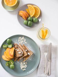 French Toast mit Obst... Frühstückszeit